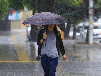 Meteorolojiden Sağanak ve Gök Gürültülü Sağanak Uyarısı
