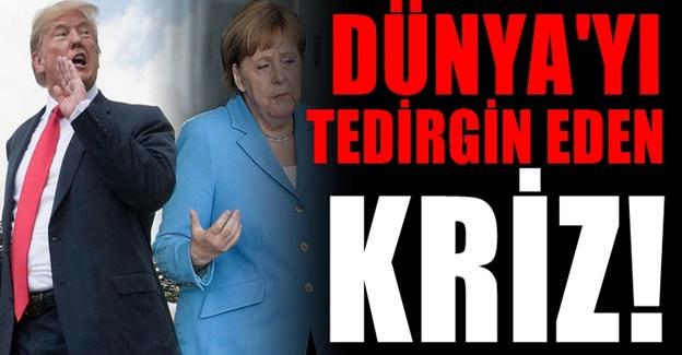Amerika'dan Almanya'ya görülmemiş kazık!