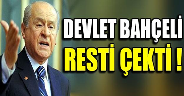 Andımız'ı hedef alan AKP'lilere Bahçeli'den Rest