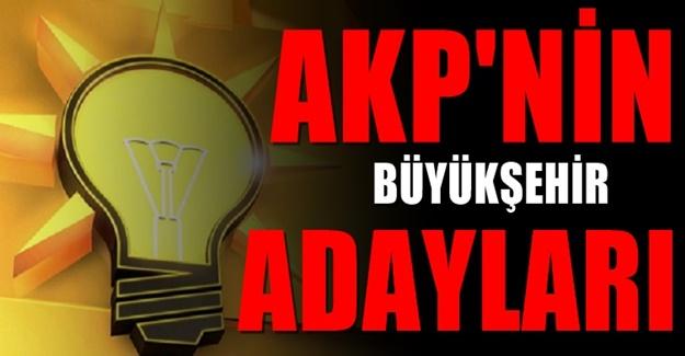 AKP'de İstanbul, Ankara ve İzmir için konuşulan isimler