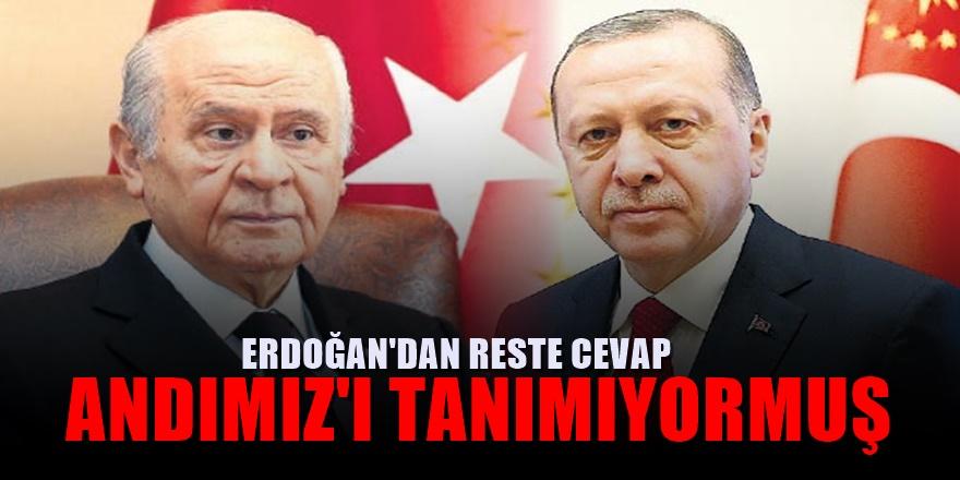 Bahçeli'nin restine Erdoğan'dan anında karşılık geldi! 'Herkes kendi yoluna'
