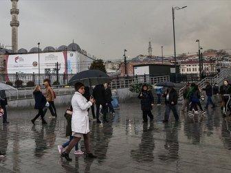 Balkanlar Üzerinden Gelen Soğuk ve Yağışlı Hava Uyarısı