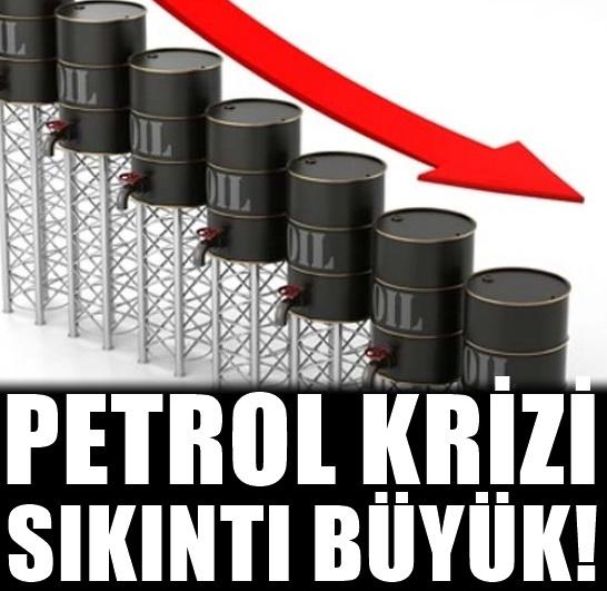 Petrol sıkıntısı baş gösterdi