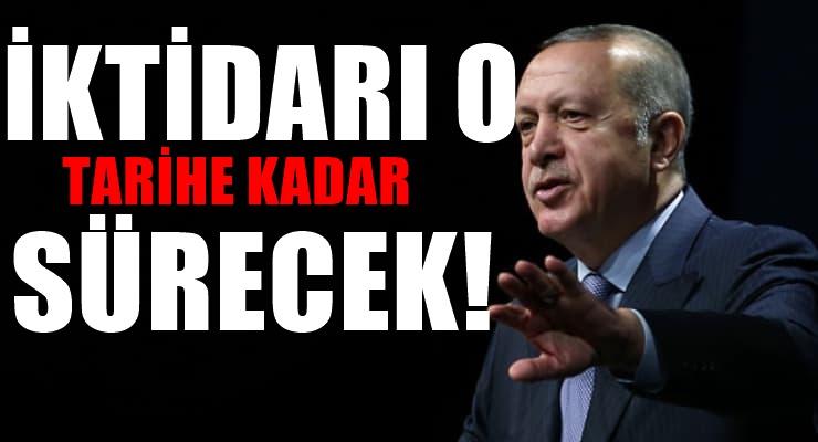 Dünyaca ünlü gazete Erdoğan'ın ne zamana kadar iktidarda kalacağını yazdı
