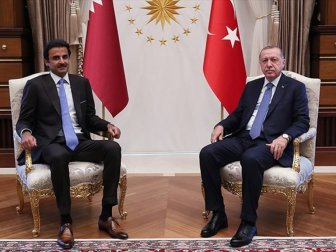 Erdoğan ile Katar Emiri Al Sani Bir Araya Gelecek