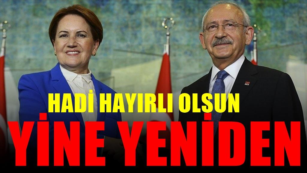 Kılıçdaroğlu ile Akşener'den flaş haber... Resmen başlıyor