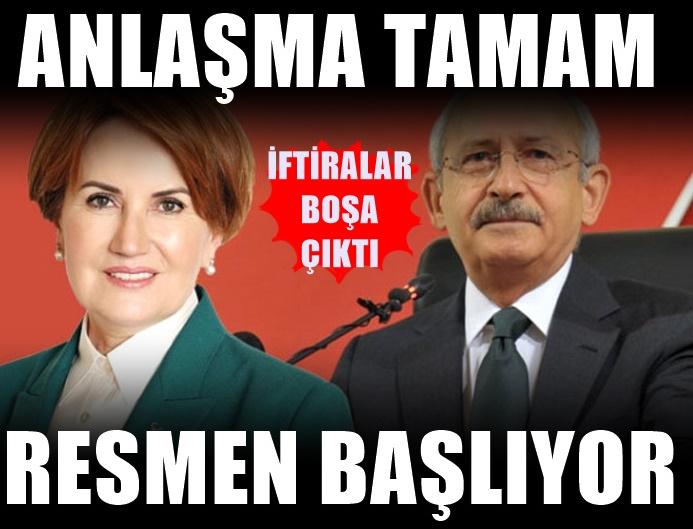 İyi Parti CHP'ye kazık atacak ifirası çöktü! Anlaşma tamam
