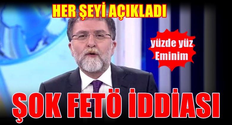 Ahmet Hakan'dan FETÖ iddiası: Yüzde yüz eminim.