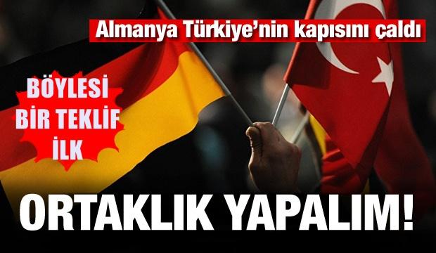 Almanya'dan Türkiye hamlesi! Ortaklık yapalım