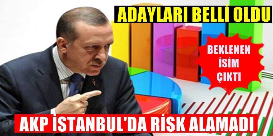 AKP İstanbul'da risk almadı