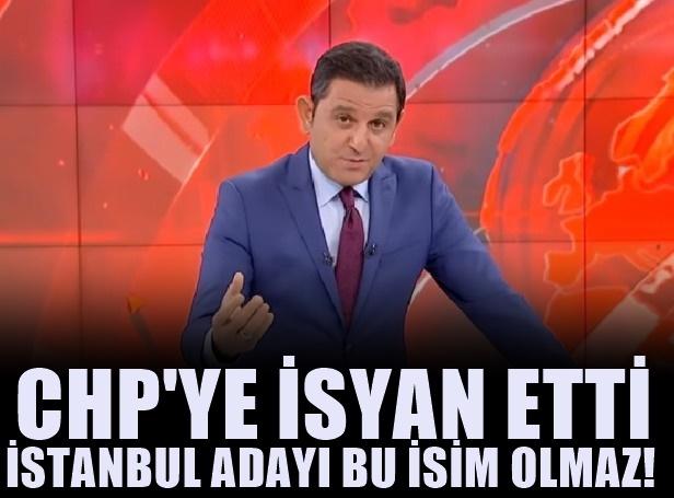 CHP yine macera peşinde! İstanbul'a şok eden aday!