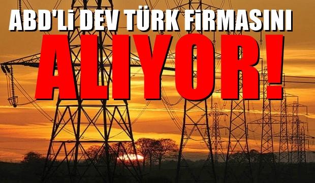 ABD'li dev Türk firmayı satın alıyor