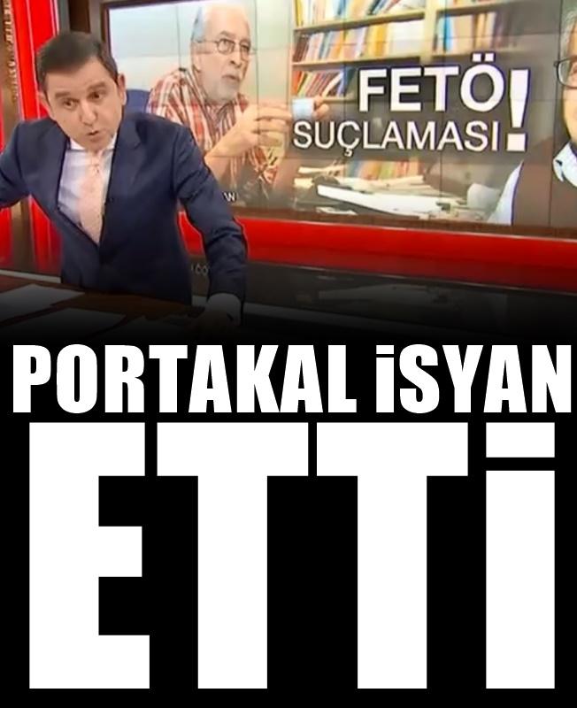 Fatih Portakal: Yarın beni de alırlar