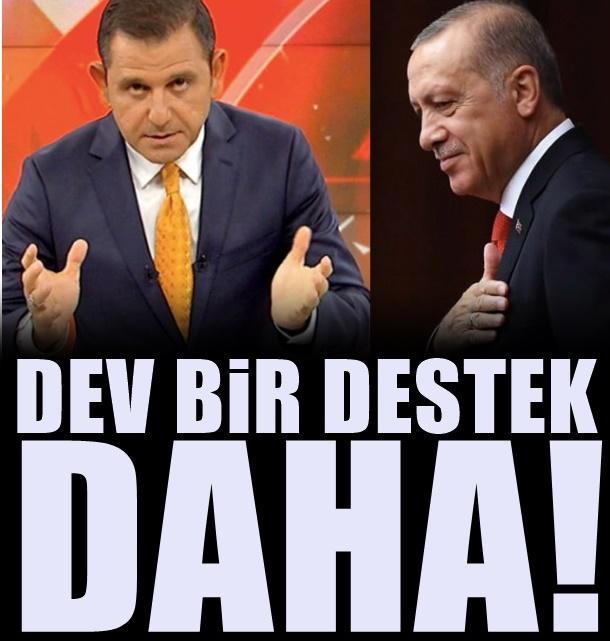 Fatih Portakal'a dev bir destek daha