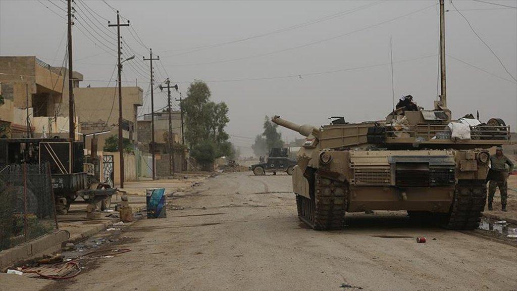 Abd'den Irak'ın Mahmur İlçesinde Deaş Hedeflerine operasyon