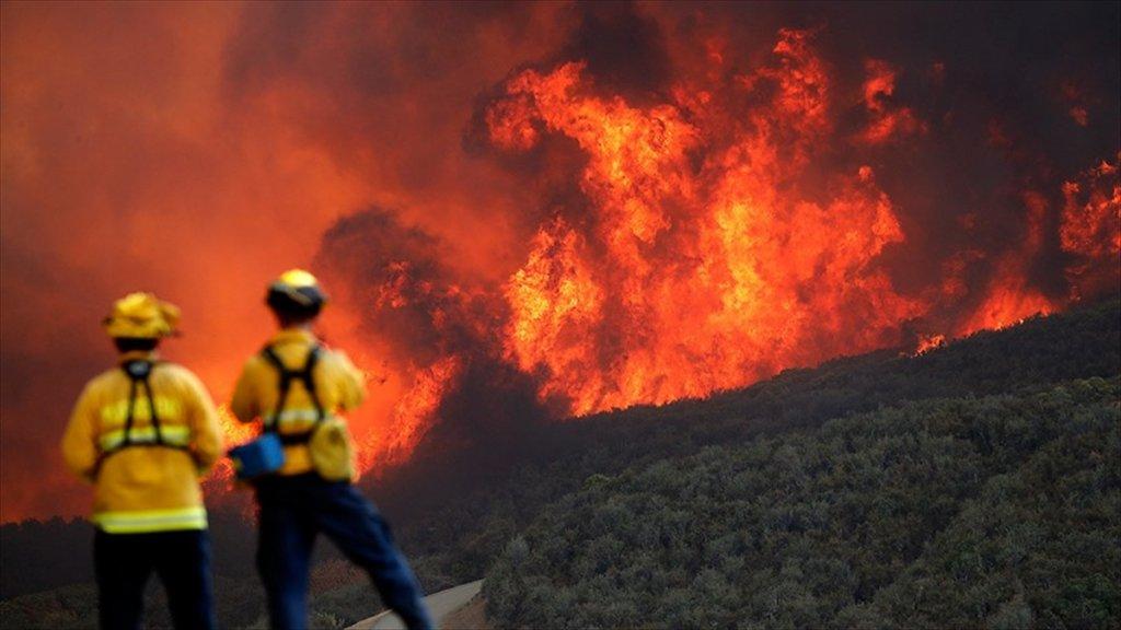 California'daki Orman Yangını 2018'in En Maliyetli Doğal Afeti Oldu
