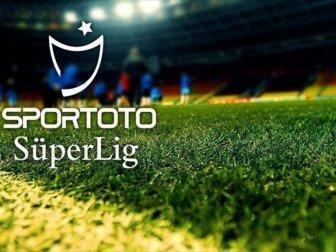 Spor Toto Süper Lig'de 3 Haftalık Maç Programı Belli Oldu