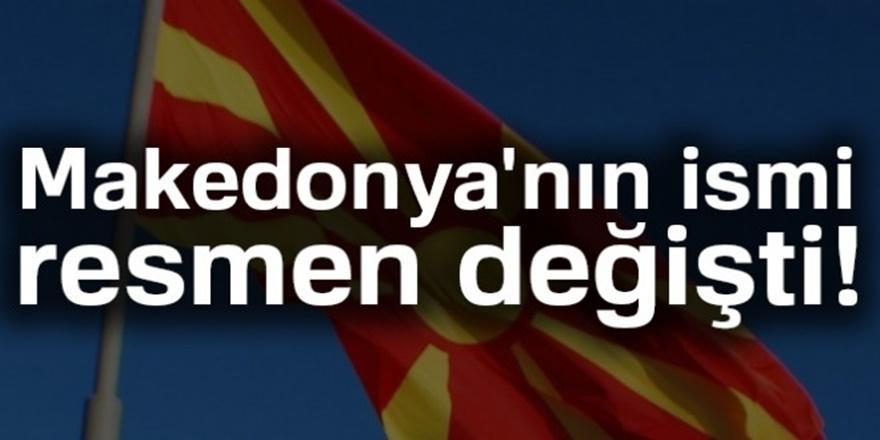 Kuzey Makedonya İsmi kabul edildi! İlk kutlama Elvin Hasan ve Enes İbrahim'den