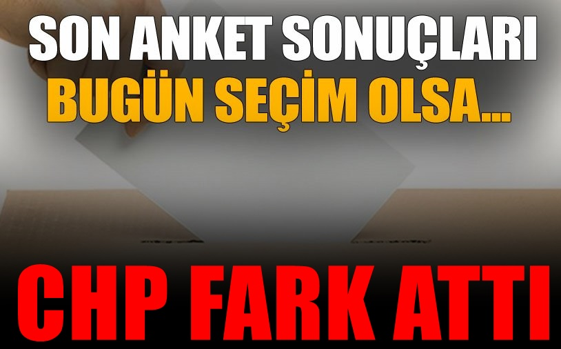 CHP, AKP'ye fark attı