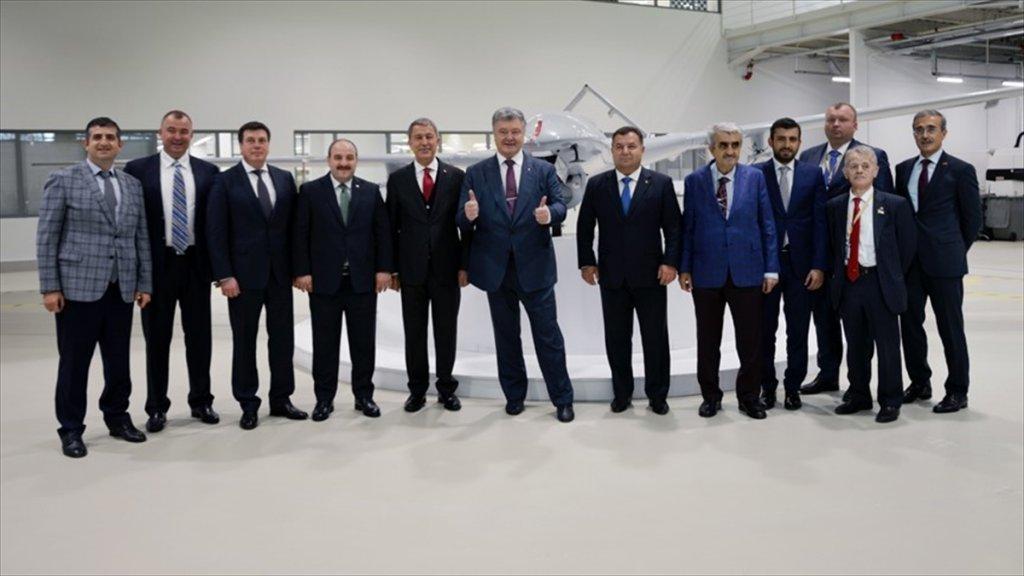 Ukrayna Türkiye'den İha Alıyor