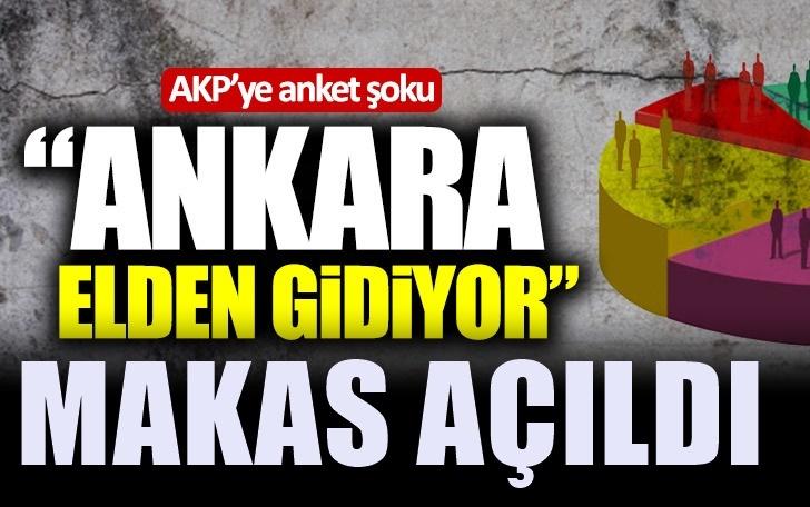 "AKP'ye anket şoku: ""Özhaseki kaybediyor"""