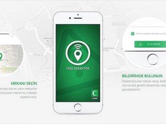 'Yeşil Dedektör' Mobil Uygulması 251 Bin Kullanıcıya Ulaştı
