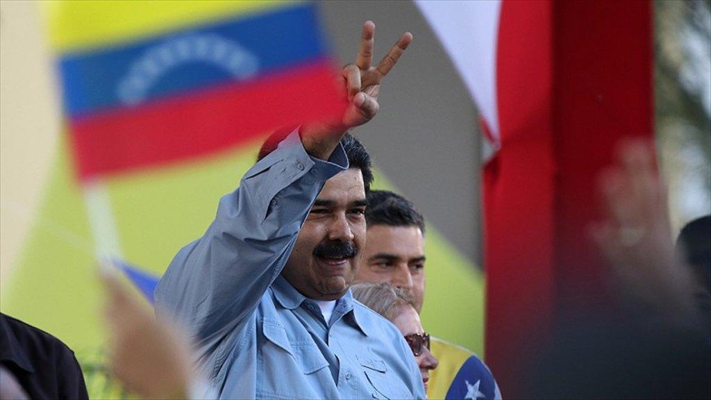 Venezuela'da Askeri Müdahale çağrısı Arasında Tatbikat