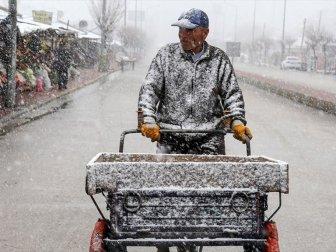 Meteoroloji Genel Müdürlüğünden Kar ve Fırtına Uyarısı