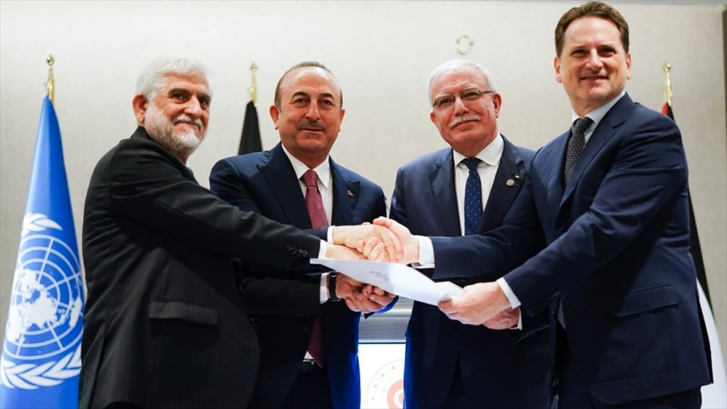 Afganistan'dan Unrwa'ya 1 Milyon Dolarlık Yardım