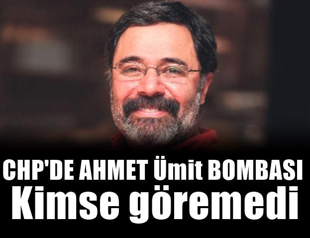 CHP'de Ahmet Ümit sevinci