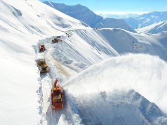 Doğu Anadolu Bölgesin'de Kar ve Çığ Uyarısı
