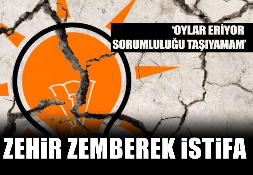 'AKP'nin kalesi'nde istifa!