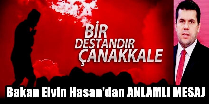 Bakan Elvin Hasan'dan 18 Mart Mesajı