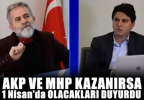 Ali Tarakçı'dan beka çıkışı: AKP kazanırsa...