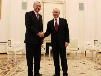 Cumhurbaşkanı Erdoğan ile Putin 3'üncü Kez Bir Araya Gelecek