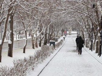 Doğu Anadolu Bölgesi'nde Nisanda Kar Yağışı Sürecek