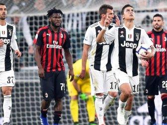 Juventus, Milan'ı İkinci Yarıda Geçti