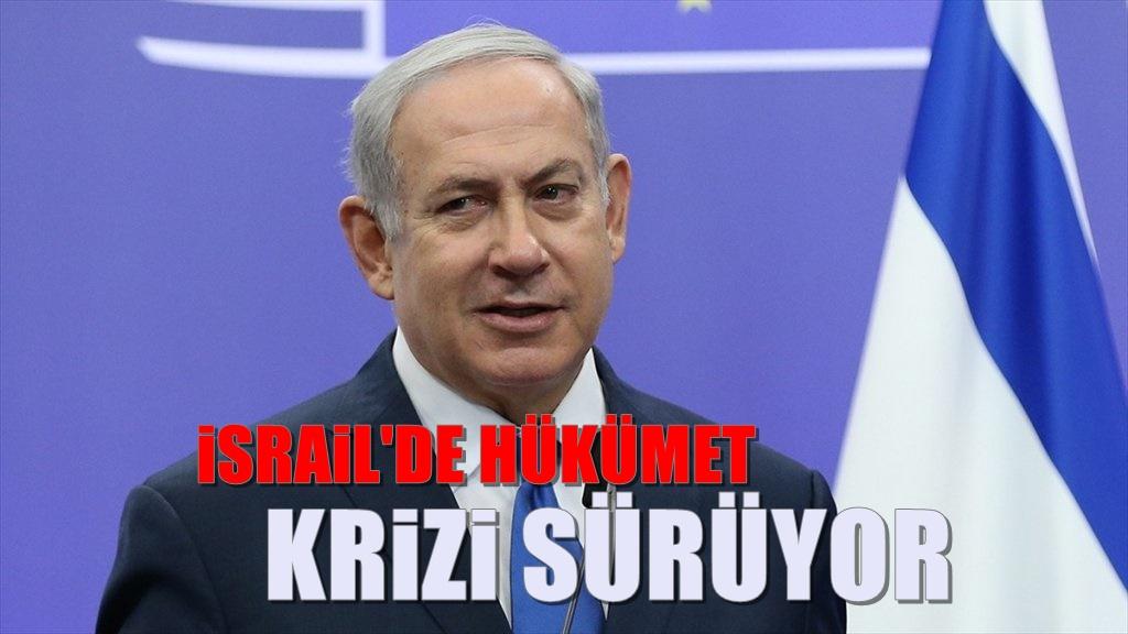 İsrail'de Koalisyon gerilimi