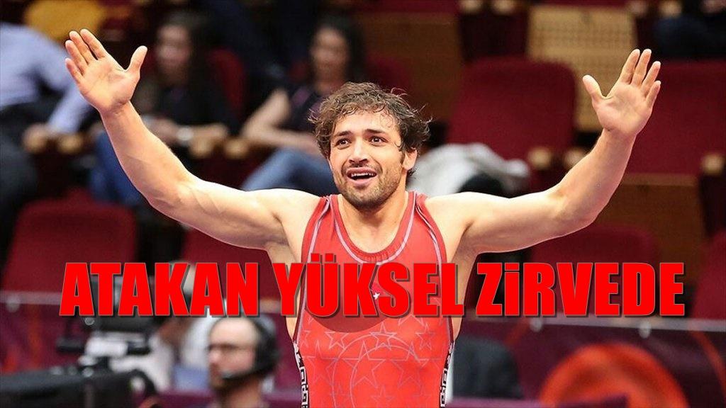 Atakan Yüksel Avrupa Şampiyonu olarak rekora koşuyor