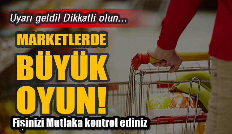 Alışveriş yaparken dikkat edin!