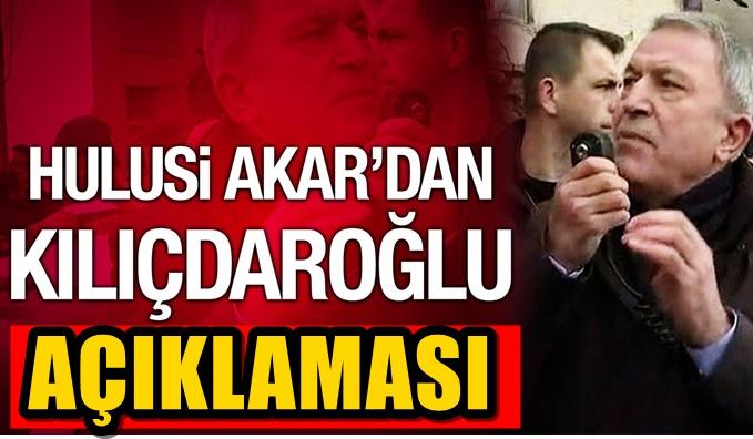 Skandal olay sonrası Akar'dan yeni açıklama