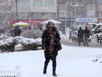 Meteoroloji Genel Müdürlüğünden Kar Uyarısı