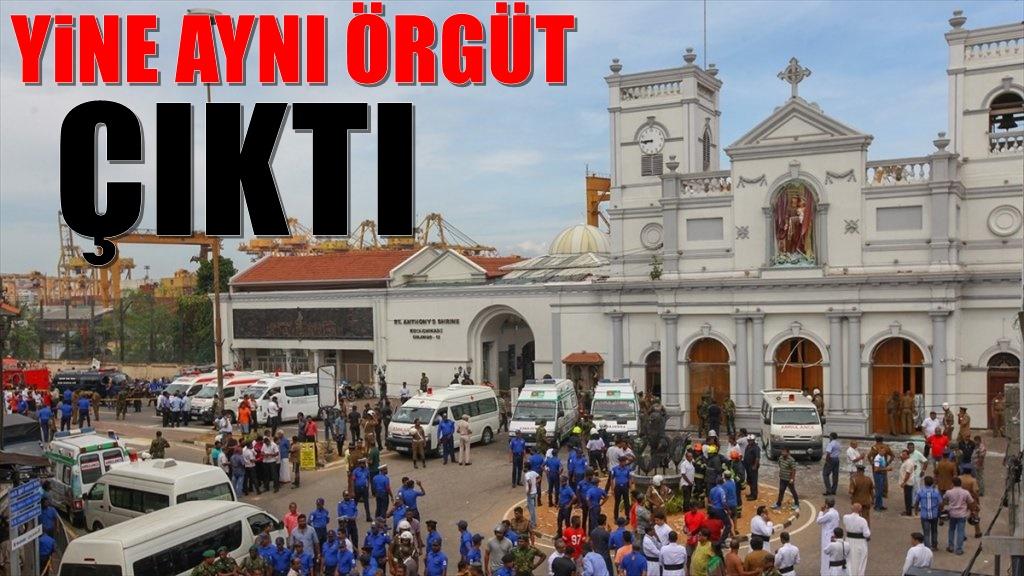 Sri Lanka olayını üstlenen örgüt