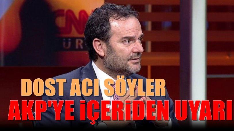 Yeni Şafak yazarı Öztürk AKP'yi uyardı: