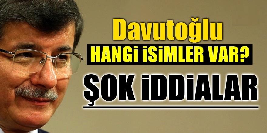 Ahmet Davutoğlu yeni parti için start verdi!