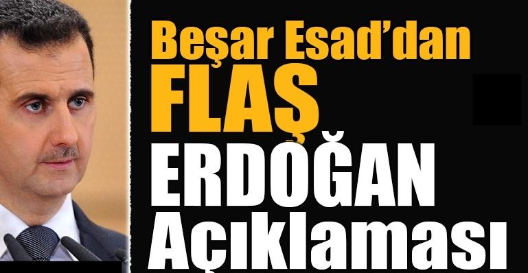 Beşar Esad'dan Erdoğan'la görüşme açıklaması