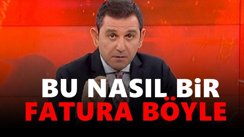 Fatih Portakal doğalgaz faturasına isyan etti!