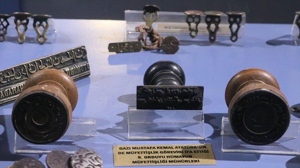 Atatürk'ün 9. Ordu Müfettişliği Mührü Müzede Sergileniyor