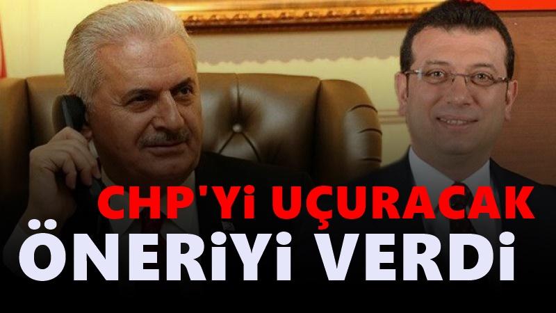 CHP'ye Binali Yıldırım afişi önerisi: