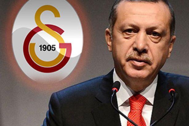 Cumhurbaşkanı Erdoğan'dan Galatasaray mesajı